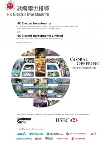 HK Electric Investments prospectus cover